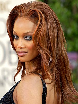 ORANGE ALERT photo | Tyra Banks