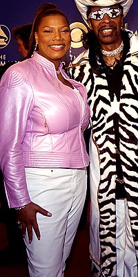 PRETTY IN PINK photo   Bootsy Collins, Queen Latifah