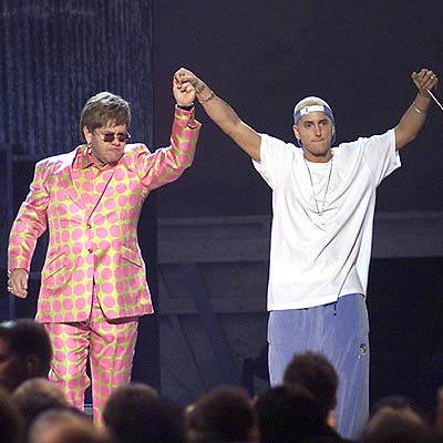 DARING DUO photo | Elton John, Eminem