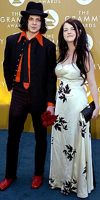 THE WHITE STRIPES: GLAM photo | The White Stripes, Jack White, Meg White