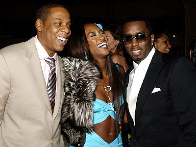 LUCKY LADY photo | Jay-Z, Naomi Campbell, Sean \P. Diddy\ Combs