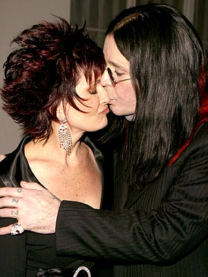 SMOOCH CENTRAL photo | Ozzy Osbourne, Sharon Osbourne