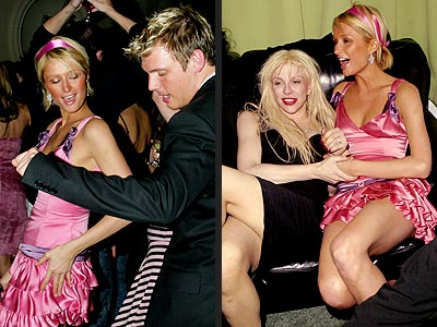 PARTY GIRL photo | Courtney Love, Nick Carter, Paris Hilton
