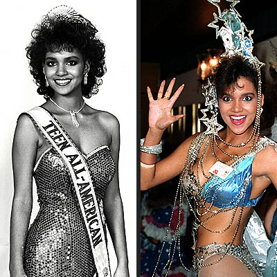 Halle Berry Pageant Queen