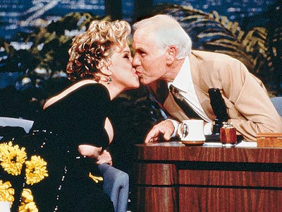 FOND FAREWELL photo | Bette Midler, Johnny Carson