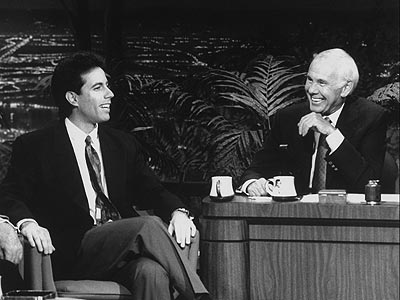 RISING STAR  photo | Jerry Seinfeld, Johnny Carson