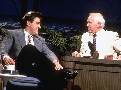 COMIC RELIEF  photo | Jay Leno, Johnny Carson