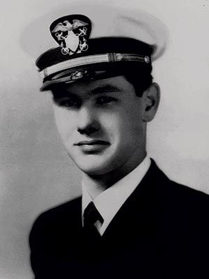 WARTIME SERVICE photo | Johnny Carson