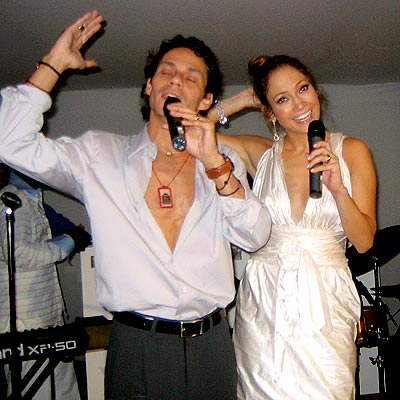 BIRTHDAY SERENADE photo | Jennifer Lopez, Marc Anthony