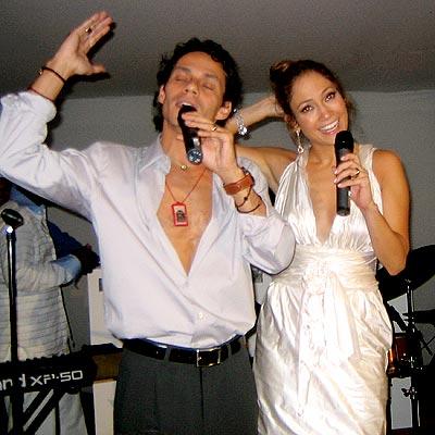 BIRTHDAY SERENADE photo | Jennifer Lopez, Marc Anthony