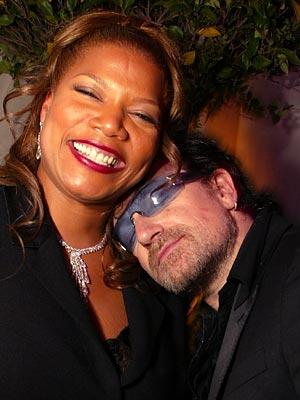 RAP & ROCK photo | Bono, Queen Latifah
