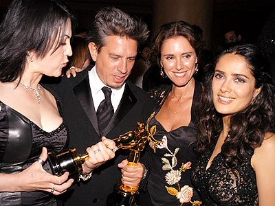 ART CIRCLE photo | Elliot Goldenthal, Julie Taymor, Salma Hayek