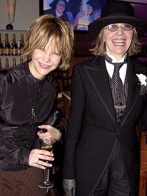 VANITY FAIR PARTY photo | Diane Keaton, Meg Ryan