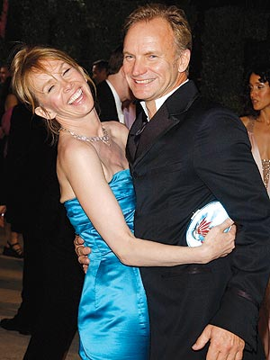 VANITY FAIR PARTY photo | Sting, Trudie Styler