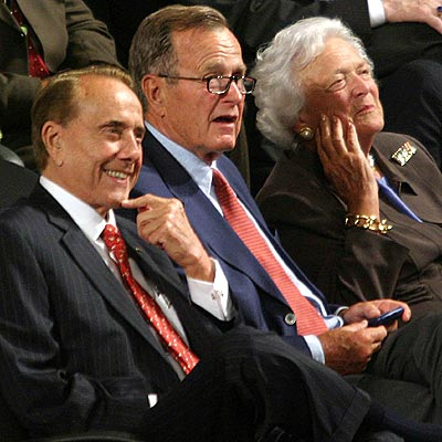 AUG. 31 photo | Bob Dole, George Bush