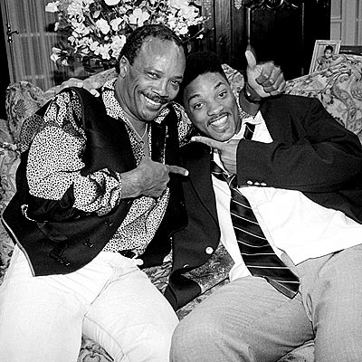 BUDDING STAR  photo | Quincy Jones, Will Smith