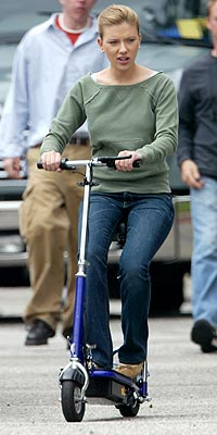 SCOOTing AROUND photo | Scarlett Johansson