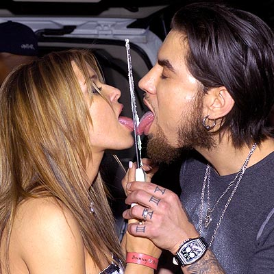 TOPPING OFF THE PARTY photo | Carmen Electra, Dave Navarro