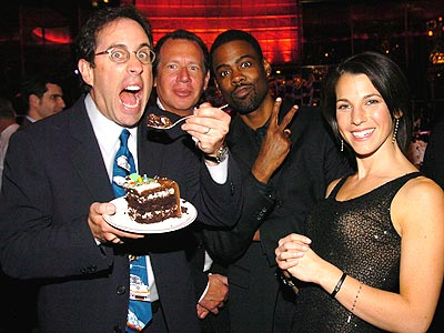 SEINFELD'S SURPRISE photo | Chris Rock, Garry Shandling, Jerry Seinfeld
