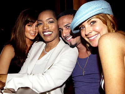 FAB FOUR  photo | Angela Bassett, Eliza Dushku, Lindsay Lohan