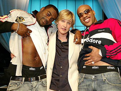 WEARING ELLEN photo | Ellen DeGeneres, Loon, Mario Winans