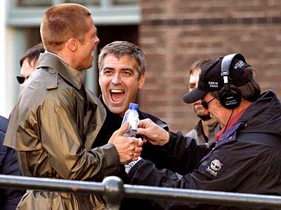 TAKE FIVE  photo   Brad Pitt, George Clooney