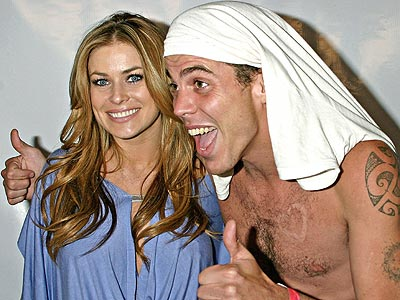 WILD TIME photo | Carmen Electra, Steve-O