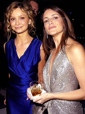 SUPPORT TEAM  photo | Calista Flockhart, Kristin Davis