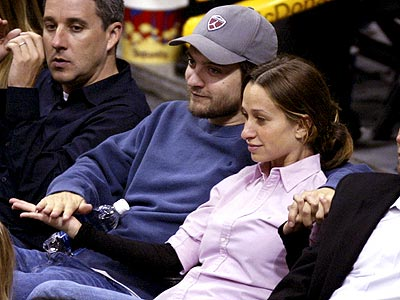 HAND-IN-HAND  photo | Tobey Maguire