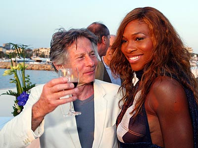 COURTING A PRO photo | Roman Polanski, Serena Williams
