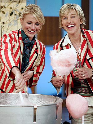 SWEET STUFF photo | Cameron Diaz, Ellen DeGeneres