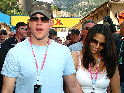 RACE FANS photo | Matt Damon
