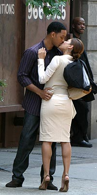 READY, SET, KISS  photo | Eva Mendes, Will Smith