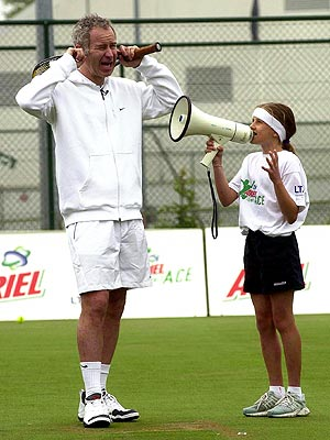 SERIOUSLY LOUD photo | John McEnroe