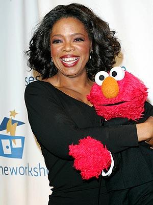 CUDDLE BUDDY  photo | Oprah Winfrey