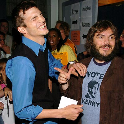 CLOWNING AROUND photo | Ashton Kutcher, Jack Black