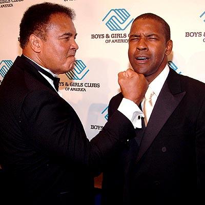 KNOCK OUT photo | Denzel Washington, Muhammad Ali