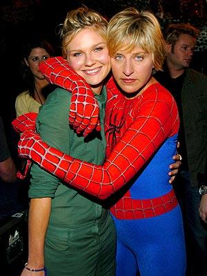 SPIDEY SENSE photo | Ellen DeGeneres, Kirsten Dunst