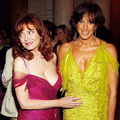 fashionable friends photo | Donna Karan, Susan Sarandon