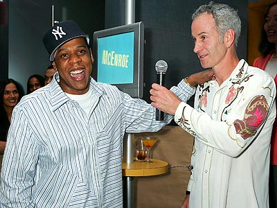 PLAYA to PLAYER photo | Jay-Z, John McEnroe