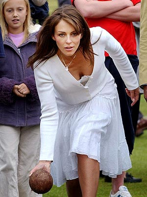 GAME FACE photo | Elizabeth Hurley