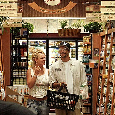 STOCKING UP photo | Britney Spears, Kevin Federline