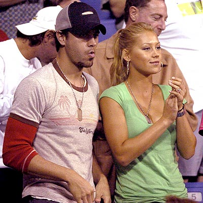 GOOD SPORTS photo | Anna Kournikova, Enrique Iglesias