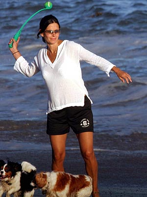 GO FETCH! photo | Courteney Cox