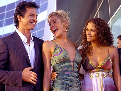 FEELING FELINE  photo | Benjamin Bratt, Halle Berry, Sharon Stone