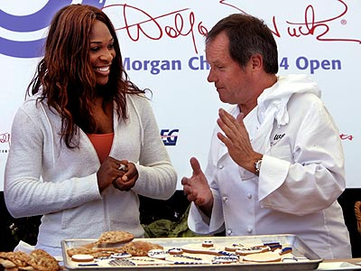 STAR DISH photo | Serena Williams, Wolfgang Puck