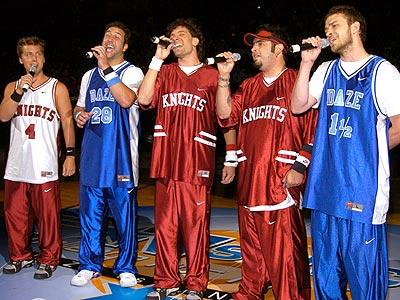 LIKE OLD TIMES photo | 'N Sync, Chris Kirkpatrick, JC Chasez, Joey Fatone, Justin Timberlake, Lance Bass