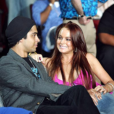 WINNING BIG photo | Lindsay Lohan, Wilmer Valderrama
