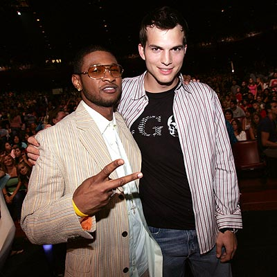 BOYS' NIGHT OUT photo | Ashton Kutcher, Usher