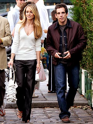 A DEUX photo | Ben Stiller, Christine Taylor